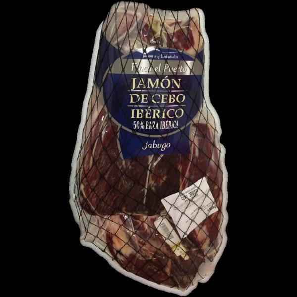latin's gusto grossiste rungis paris charcuterie espagnole Jambon iberique Cebo 50% iberique desossé