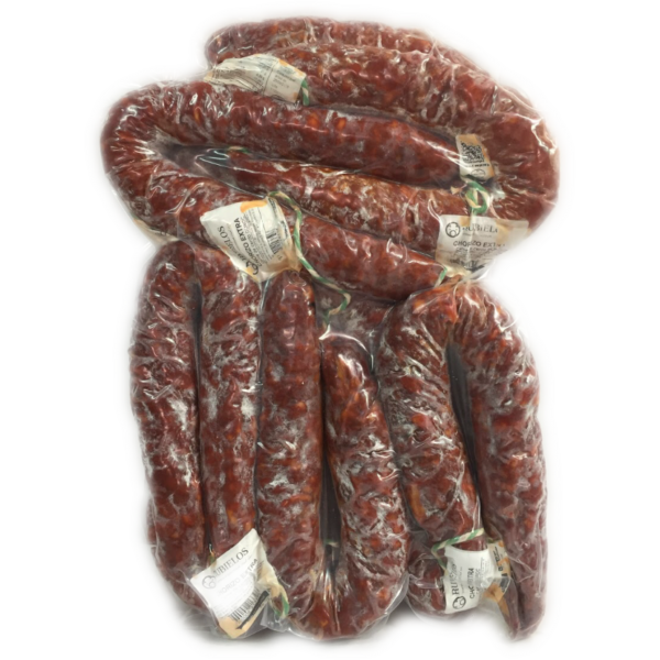 grossiste latin's gusto rungis Chorizo TERUEL fort sachet 6×500 grs charcuterie espagnole fort doux