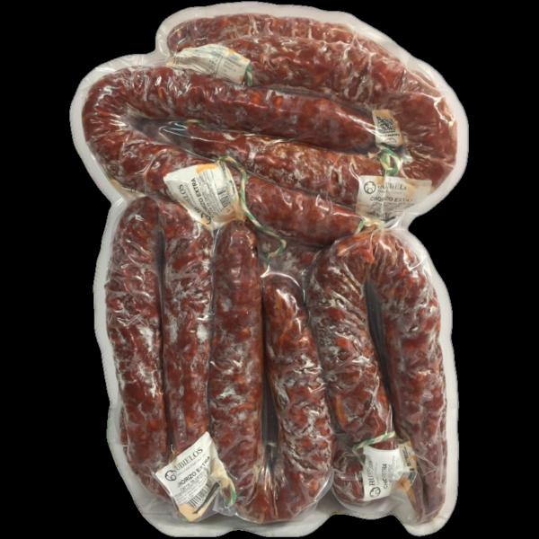 grossiste latin's gusto rungis Chorizo TERUEL fort sachet 6×500 grs charcuterie espagnole fort doux