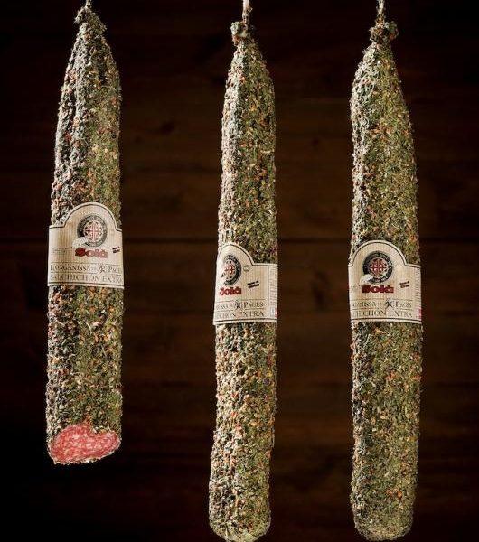latin's gusto grossiste rungis paris charcuterie espagnole Saucisson payes herbe 500 grs