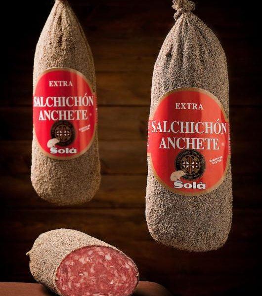 latin's gusto grossiste rungis paris charcuterie espagnole Saucisson anchete poivre