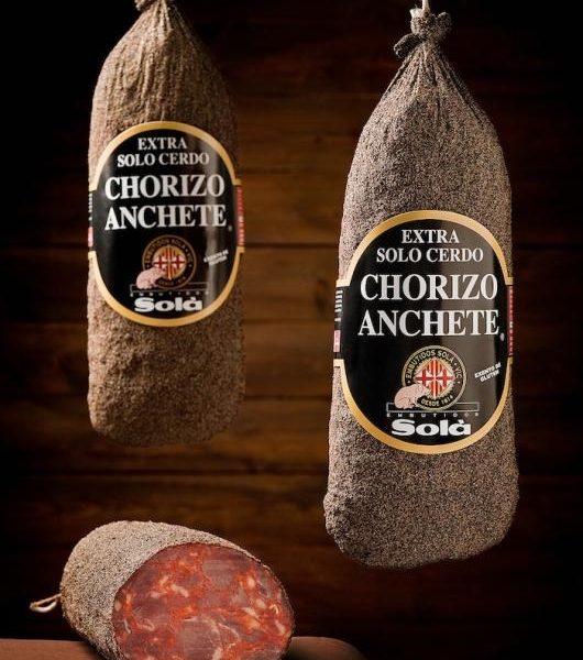 latin's gusto grossiste rungis paris charcuterie espagnole Chorizo anchete poivre