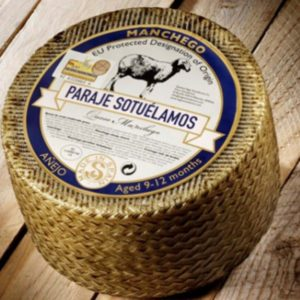 latin's gusto grossiste rungis paris fromage espagnol Fromage manchego 12 mois affiné Lait CRU