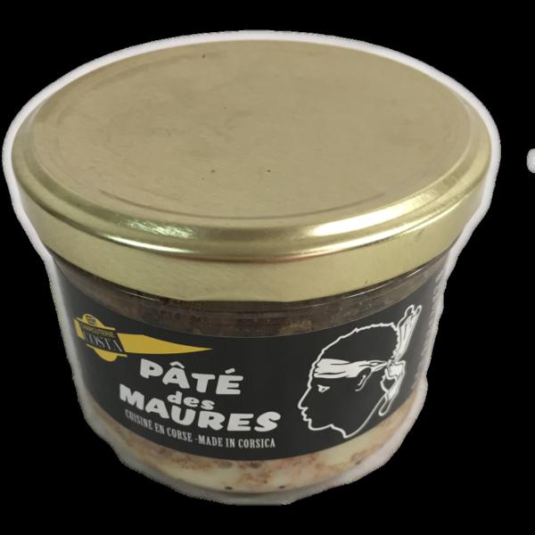 latin's gusto grossiste rungis paris corse charcuterie costa conserve bocaux PATE DES MAURES 180 GRS