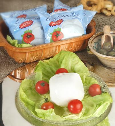 latin's gusto grossiste rungis paris Mozzarella boule 125 grs sachet fromage italie vache
