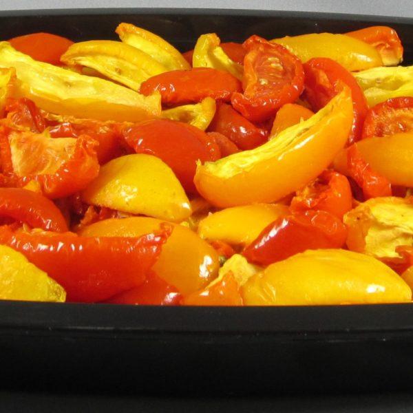 latin's gusto grossiste rungis paris antipasti huile bocaux barquette conserve huile Tomates confites jaunes et rouges