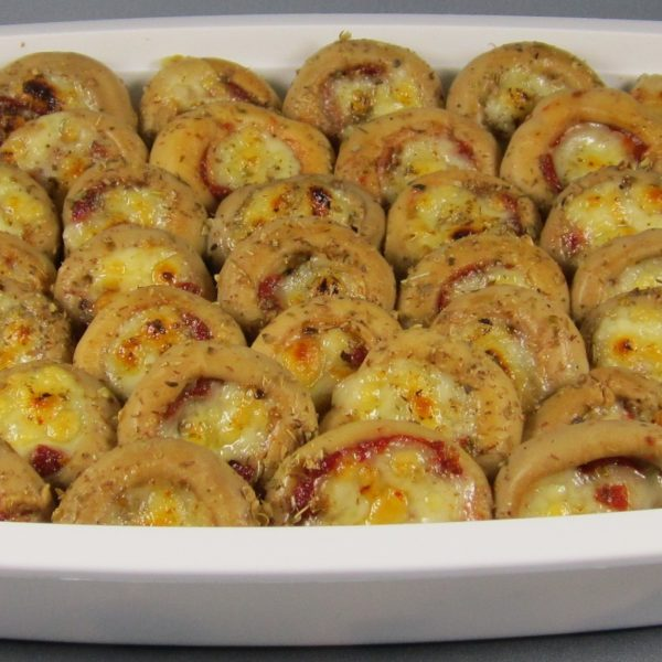 latin's gusto grossiste rungis paris Champignon farcis tomate et mozzarella huile conserve bocaux
