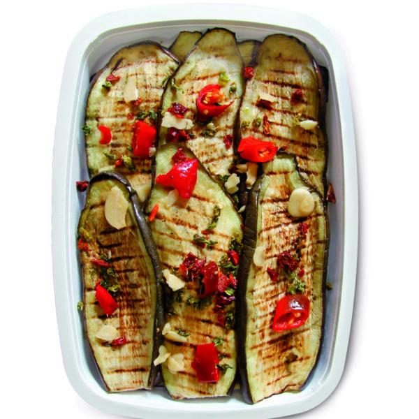 latin's gusto grossiste rungis paris antipasti huile bocaux barquette conserve Aubergines grillées 1kg