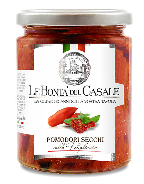 latin's gusto grossiste rungis paris bocaux huile conserve antipasti italie TOMATES SECHEES 314 ML