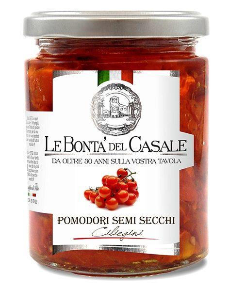 latin's gusto grossiste rungis paris bocaux huile conserve antipasti italie TOMATES CERISES CONFITE 314 ML