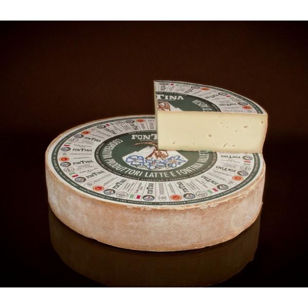 latin's gusto grossiste rungis paris fromage italien vache Fontina 1/4