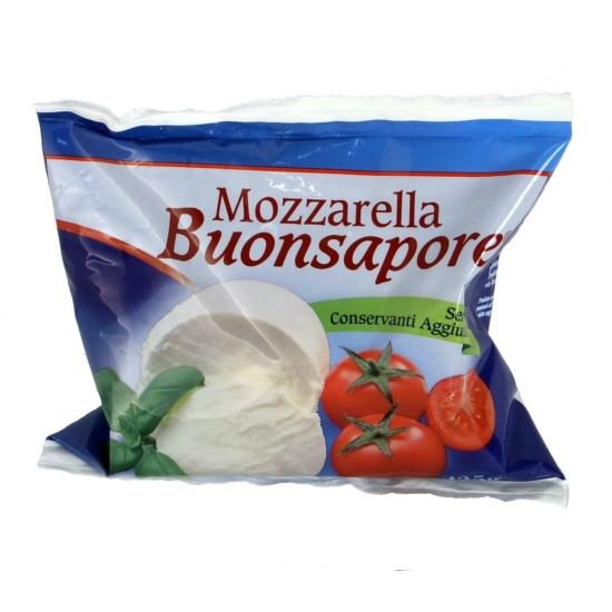 latin's gusto grossiste rungis paris Mozzarella sachet 125 grs x 20 buonsapore fromage vache italie