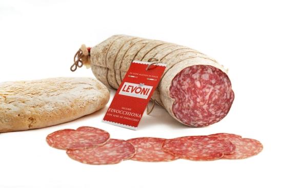 grossiste latin's gusto rungis FINOCCHIONA Gros saucisson à la coupe, au fenouil charcuterie italienne