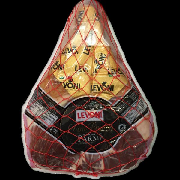 latin's gusto grossiste rungis paris charcuterie italienne levoni PARME DON ROMEO DOP Jambon nettoyé à 27% 24 MOIS aplat