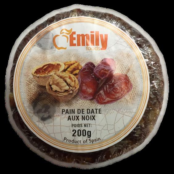 latin's gusto grossiste rungis paris epicerie espagnole PAIN DE DATE AUX NOIX 200 GRS