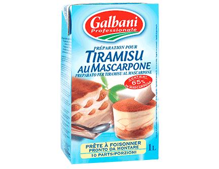 latin's gusto grossiste rungis paris Tiramisu 65% mascarpone UHT italie préparation sauce patisserie