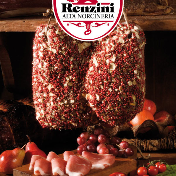 latin's gusto grossiste rungis paris charcuterie italienne renzini Sella de maitre dante poivre rose et vert renzini