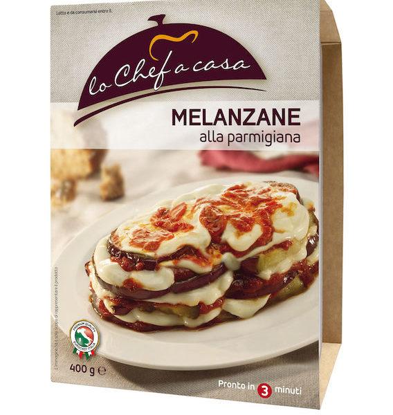 Latin's Gusto grossiste rungis paris France Italie Epicerie Italienne plats cuisinés AUBERGINES A LA PARMIGIANA 400 GRS LO CHEF A CASA