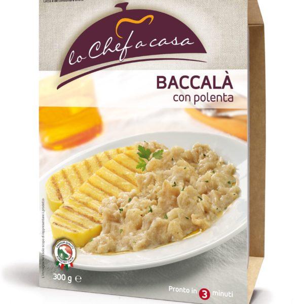 Latin's Gusto grossiste rungis paris France Italie Epicerie Italienne plats cuisinés BACCALA A LA VICENTINA 350 GRS LO CHEF A CASA