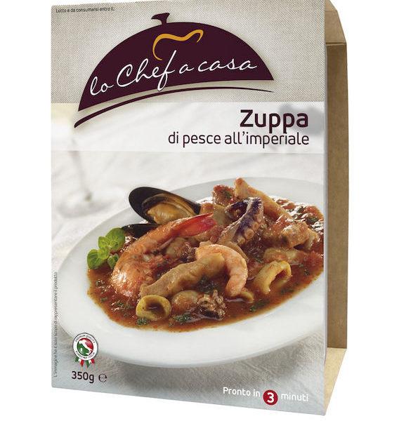 Latin's Gusto grossiste rungis paris France Italie Epicerie Italienne plats cuisinés BOUILLABAISSE IMPERIALE 350 GRS LO CHEF A CASA
