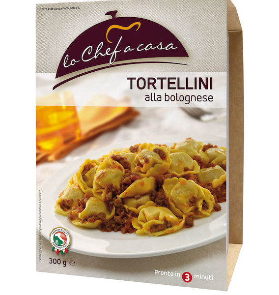 Latin's Gusto grossiste rungis paris France Italie Epicerie Italienne plats cuisinés TORTELLINI A LA BOLOGNESE 300 GRS LO CHEF A CASA