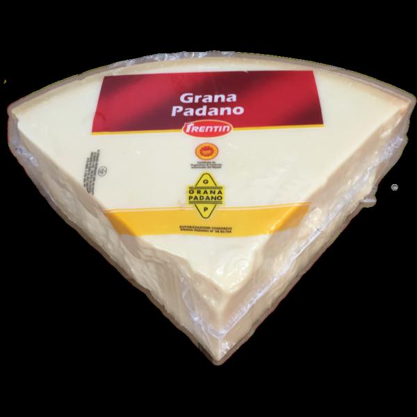 Latin's Gusto grossiste Rungis Paris Italie, Fromages, lait de vache, GRANA PADANO 1/8 TRENTIN