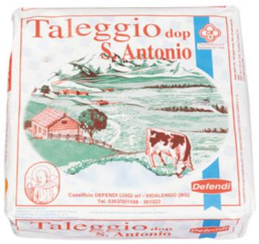 Latin's Gusto grossiste Rungis Paris Italie, Fromages, lait de vache, TALEGGIO DOP SAN ANTONIO