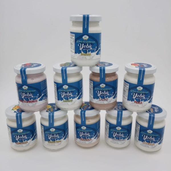 latin's gusto grossiste rungis paris fromage yaourt lait di bufala bufflonne pot verre italie