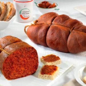 latin's gusto grossiste rungis paris nduja artisanal charcuterie italie picante