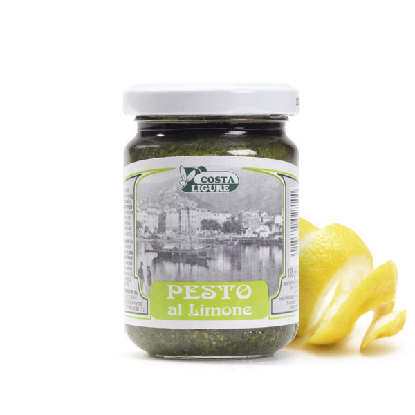latin's gusto grossiste distributeur rungis paris pesto citron 135 grs italie