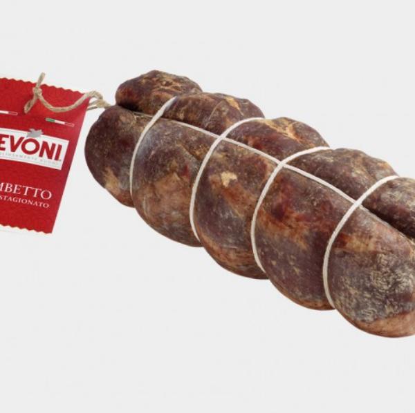 latin's gusto grossiste rungis paris LOMBETTO Longe de porc travaillée au vin et aux aromates levoni charcuterie italienne