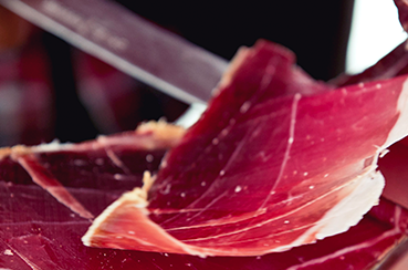 latin's gusto grossiste rungis paris jambon cru sec 36 mois corse u lugo porc noir